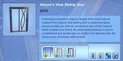 Nature's View Sliding Door