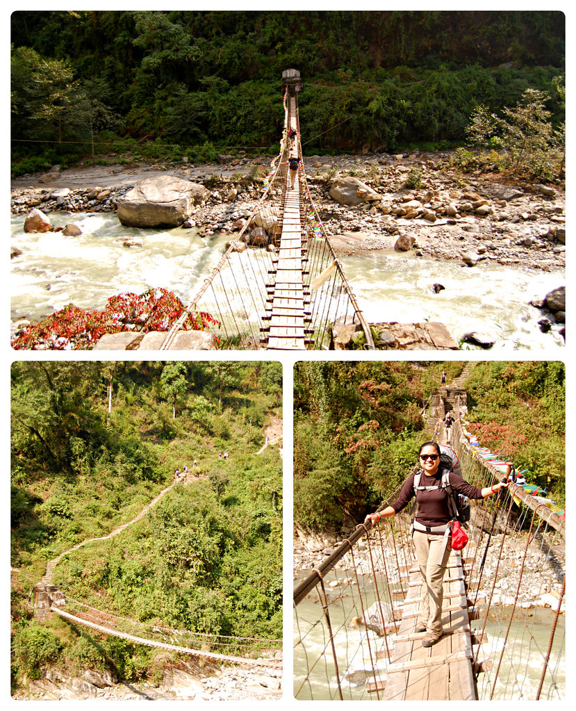 Bridge Annapurna Sanctuary Trek
