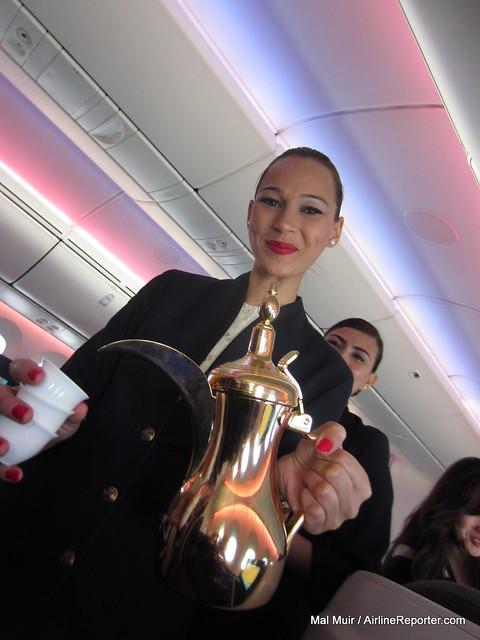 Qatar Airways Boeing 787 Dreamliner Delivery Flight