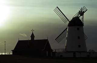 Windmill at Lytham, Lancashire.