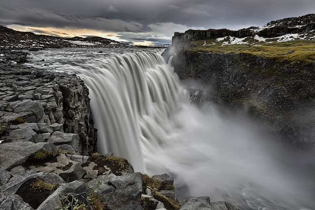 Thundering waterfall - Dettifoss, Iceland (Prometheus waterfall)