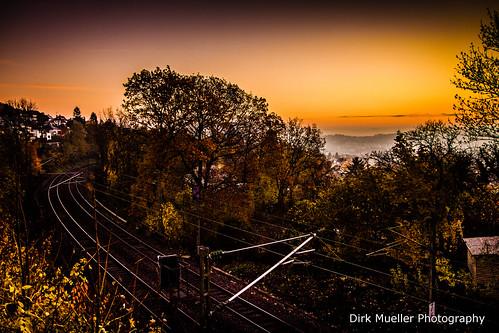 Foggy Stuttgart by Dirk Mueller Photography