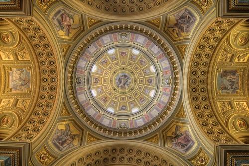 Dome of St. Stephen's Basilica
