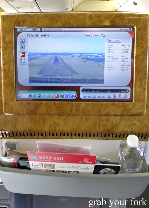 emirates business class external plane camera