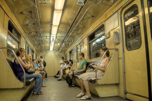 On the Budapest Metro