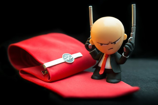Hitman Absolution - Cravate, pince cravate et mini Agent 47