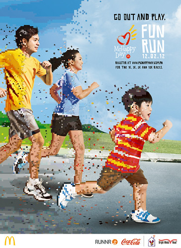 27x37 McHAPPY DAY FUN RUN POSTER