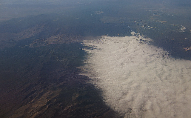 aerial: clouds and mountains (2012)