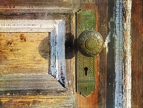 Old Door Textured