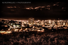 "Day 65-365 / 11.21.12 / Project 365 ""Honolulu Nighttime 2x HDR"""