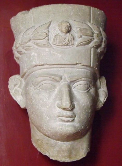 Head of a Priest from Palmyra in the Vatican Museum, July 2012