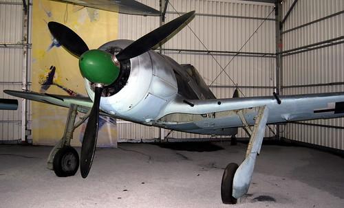Focke-Wulf Fw-190, Focke-Wulf Fw-190 A-8, Musee de l'Air et de l'Espace, Le Bourget, Paris.