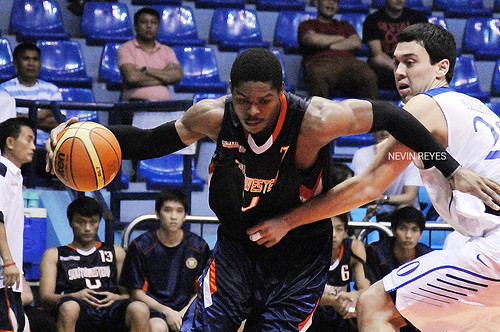 PCCL 2012 Final Four: Ateneo Blue Eagles vs. SWU Cobras, Nov. 23