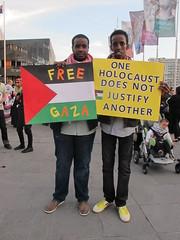 Gaza Rally 2012 Melbourne