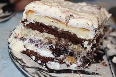 chocolate cake(0.0), german chocolate cake(0.0), chocolate brownie(0.0), torte(0.0), cake(1.0), baking(1.0), buttercream(1.0), black forest cake(1.0), baked goods(1.0), food(1.0), icing(1.0), dish(1.0), dessert(1.0), cuisine(1.0),