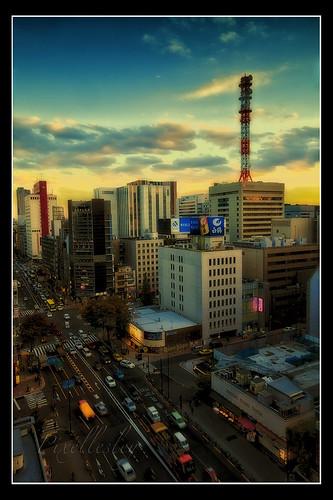 twilight, Tokyo city