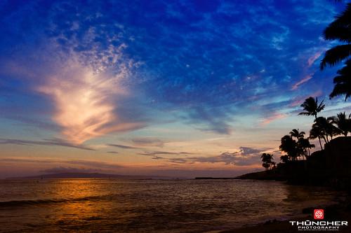 leica sunset beach hawaii waves rangefinder maui pacificocean fullframe fx m9 maalaea kodakportra400 summicron35mmf2asph leicam9 agm9