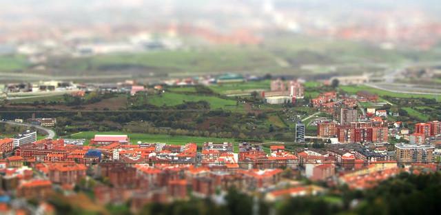 (efecto tilshift) desde La Arboleda