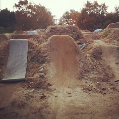before... #bmx #trails #dig