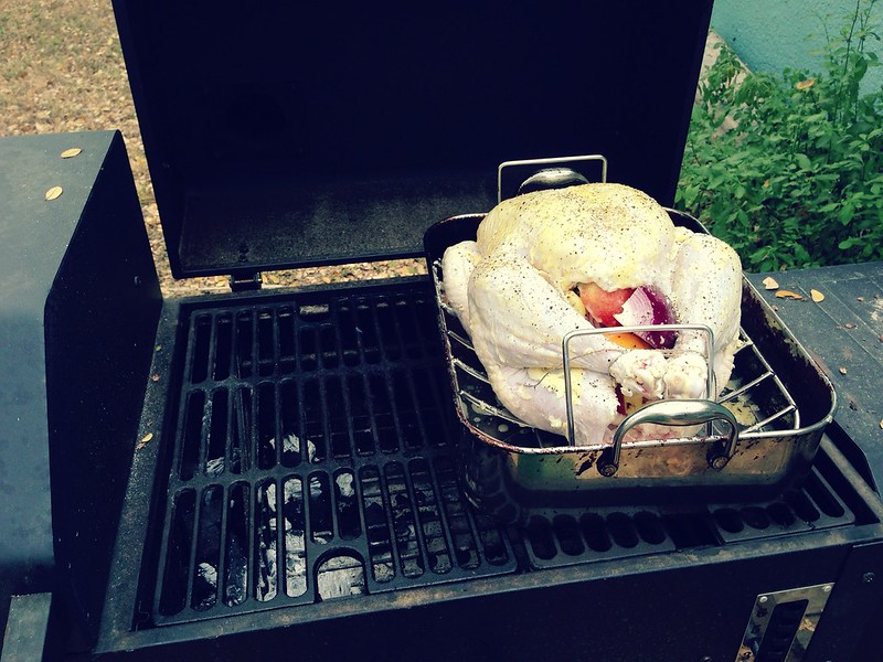 Grill/Smoking the Turkey