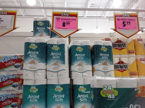 image about Menards Printable Coupons named Angel Delicate Bathtub Tissue 0.011/sq toes soon after Printable coupon at