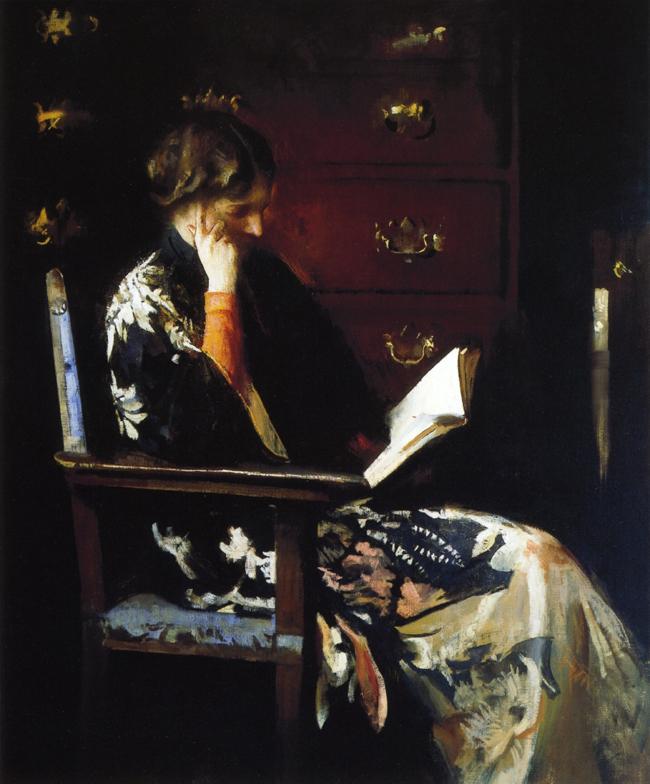 Mary Reading