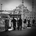 Fishing on Ataturk bridge, Istanbul, Novemeber 2012