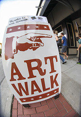 Art Walk sign