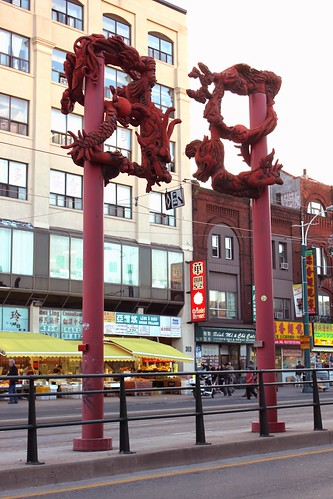 China Town Gate