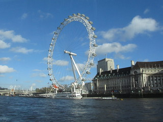 London Eye and the Aquarium