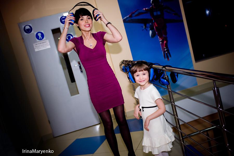 Фотосъемка юбилея в аэротрубе. Фотограф Ирина Марьенко