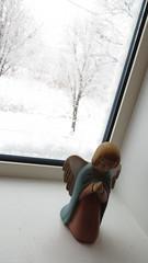 「あじと2 cafe日びの」にて、豪雪にビビる。