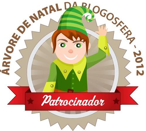 Patrocinador blogosfera by Linhas Arrojadas Atelier de Costura ® Trademark