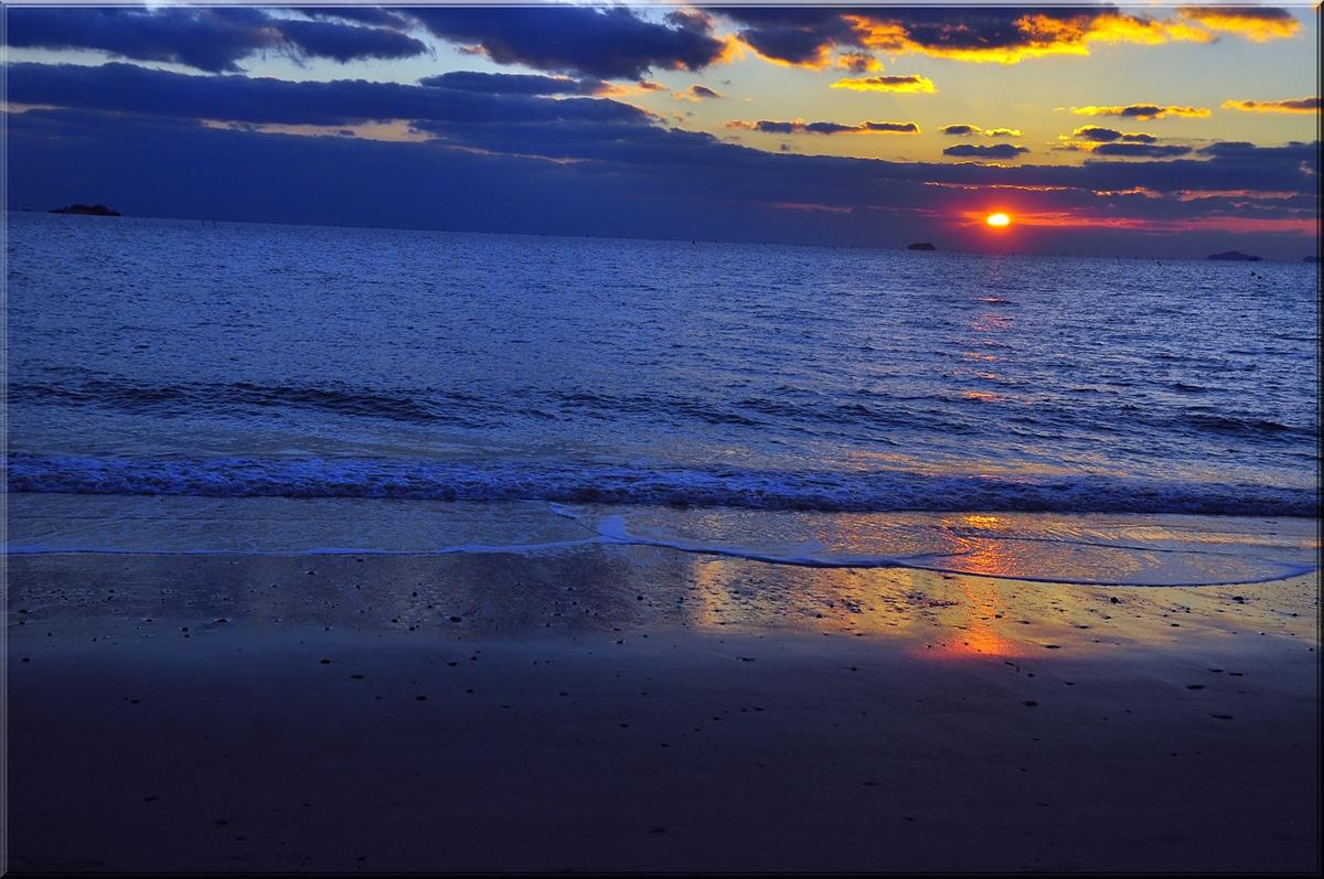 Sunset, Daecheon Beach...November 2012