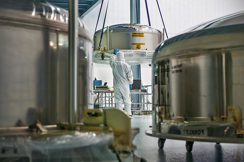 Webb Telescope Mirror Canisters