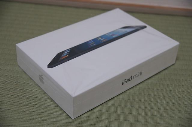 iPadmini開封の儀
