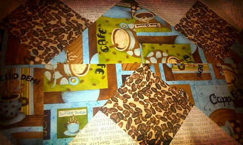 Coffee Ribbons Tablerunner
