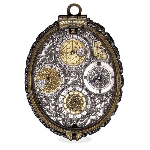 001-Reloj de bolsillo con calendario y alarma por Jean Vallier-© Trustees of the British Museum