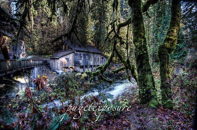 Cedar Creek Grist Mill, WA