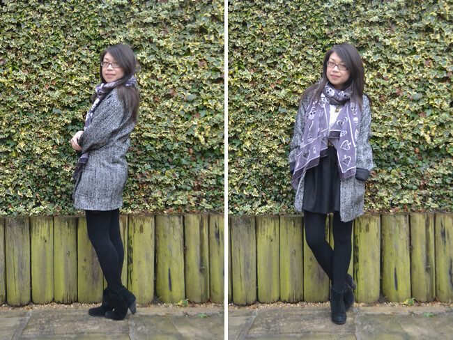 daisybutter - UK Style and Fashion Blog: what i wore, ootd, AW12, winter style
