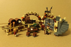 LEGO The Hobbit Barrel Escape (79004)