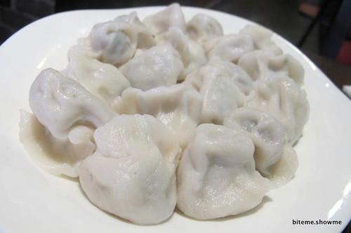 New Shanghai - Pork and Corriander Dumplings