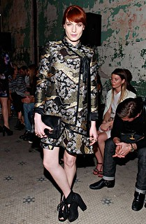 Florence Welch Orient Trend Celebrity Style Women's Fashion