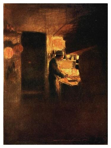017- Una cocina en Paris-Paris (1909)-Mortimer Menpes