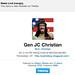 Jesus General Follows me on Twitter