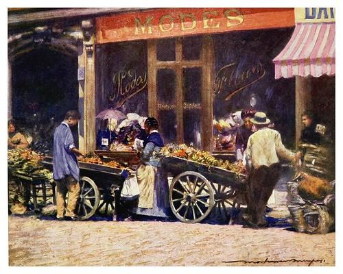 002- Rue de Lafayette-Paris (1909)-Mortimer Menpes