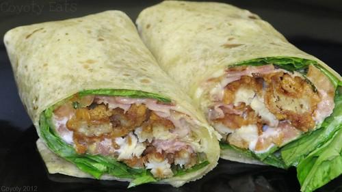 Chicken cordon bleu wrap by Coyoty