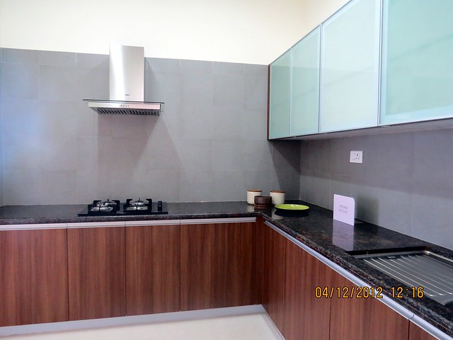 Kitchen - Show flat of Siddhashila Eira, 2 BHK & 3 BHK Flats in 16 Story 2 Towers with Amenities & Parking on & under the Podium at Koyate Vasti, Punawale, PCMC, Pune 411033