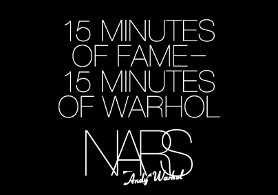 NARS Andy Warhol Holiday Facebook contest