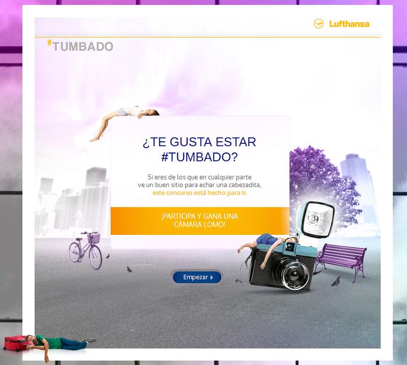 Gana una cámara Lomo con el nuevo concurso de Lufthansa #Tumbado